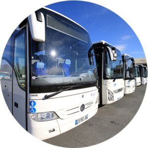 Rent coaches and buses with Keolis Gironde
