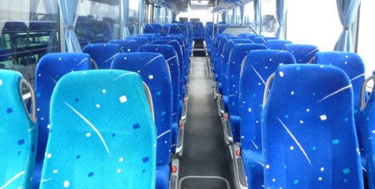 Autocars prévus pour le transport de grands groupes