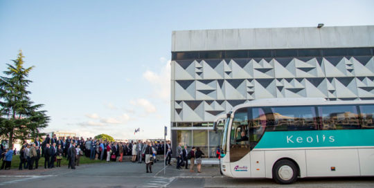 Business tourism by bus in Bordeaux
