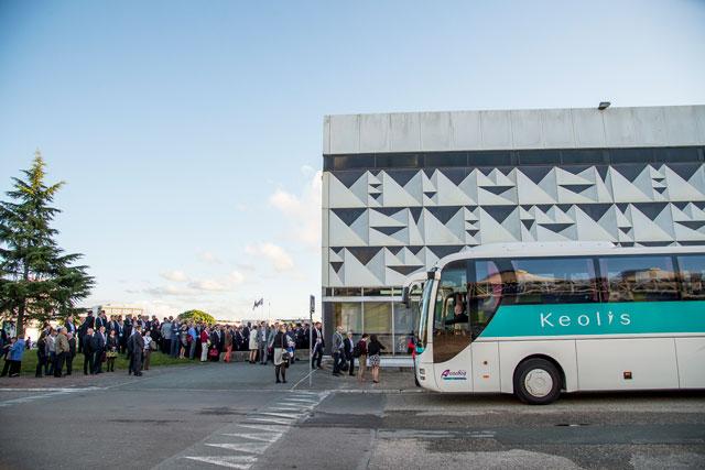 Autocars pour tourisme d'affaires à Bordeaux