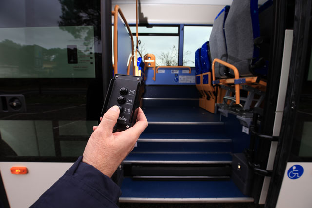 Coaches made for reduced mobility travellers